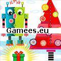 A Robots Christmas SWF Game