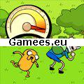 Adventure Time - Jumping Finn SWF Game