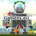 Big Evil Robots SWF Game