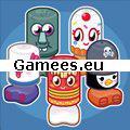 Bobble Bots Bustle SWF Game