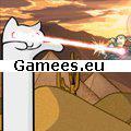 Catnarok Longcat Rampage 2 SWF Game