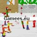 Christmas Zombie Defence SWF Game