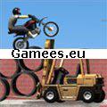 Construction Yard Bike SWF Game
