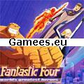 Fantastic Four Rush Crush SWF Game