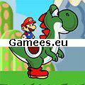 Mario and Yoshi Adventure SWF Game