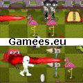 Monsters Lawn SWF Game