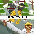 Ninja and Blind Girl SWF Game