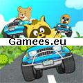 Raccoon Racing SWF Game