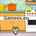 Raccoons Towel SWF Game