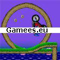 Sonic Ninja Motobike SWF Game