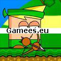 The Green Bowman SWF Game