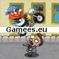 Zombies Want My Bike SWF Game